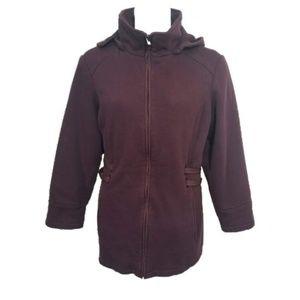 Details Intl Knit Winter Coat Plus Size